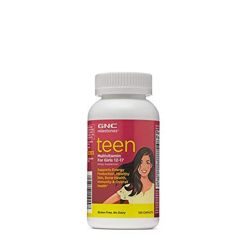 GNC milestones Teen - Multivitamin for Girls 12-17 - (Product) RED
