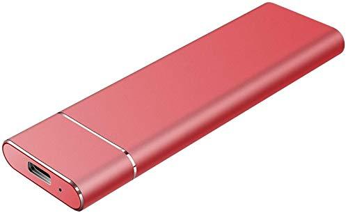 External Hard Drive 1TB 2TB,Portable Hard Drive External for PC, Laptop and Mac (2TB Red)