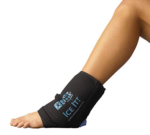 Cold & Hot Therapy System Ice Pack)- Ice It!  MaxCOMFORT (Elbow/Ankle/Foot Wrap (514)– from Battle Creek Equipment, Hot & Cold Therapy Items Since 1931!