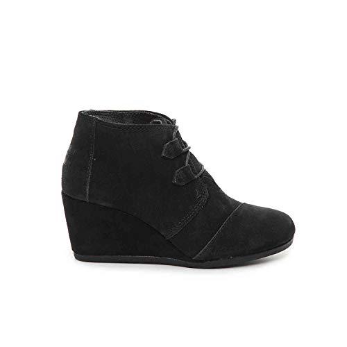 TOMS Black Suede Women's Kala Botie 10012955 (Size: 6.5)