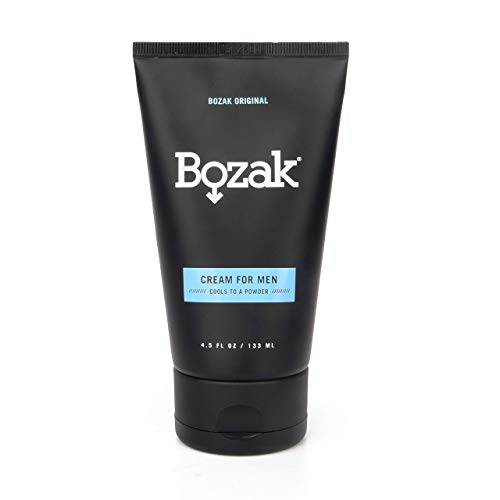 Bozak Jock Itch and Athlete's Foot Cream – Extra Strength, Clinically Proven, Talc Free – Stops Chafing, Absorbs Sweat, Keeps Skin Dry – 2% Miconazole Nitrate and Menthol