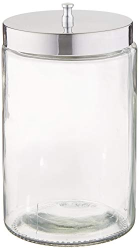 PHYSICIAN SUPPLIES - 15710 Physician Supplies Sundry Jars, Unlabeled Set of 6