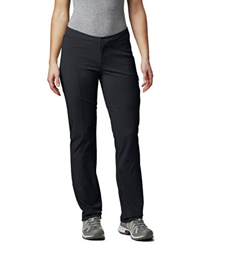 Columbia Women's Just Right Straight Leg Pant, Black, 10R