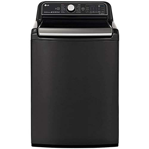 LG WT7900HBA 5.5 cu.ft. Black Steel Wi-Fi Enabled Top Load Washer