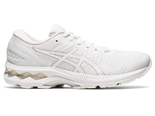 ASICS Women's Gel-Kayano 27 Running Shoes, 8M, White/White