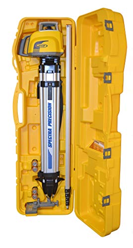 Spectra Precision Laser LL300N-1 Automatic Self-leveling Laser Level, 10-Inch Grade Rod (tenths) & Tripod Kit