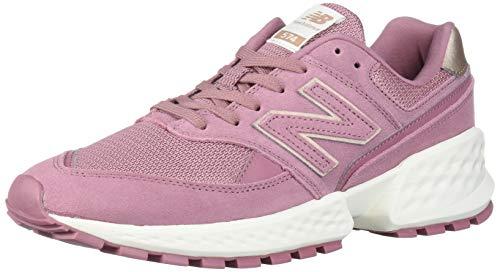 New Balance Women's Fresh Foam 574 Sport V2 Sneaker, Twilight Rose/SEA Salt, 9 B US
