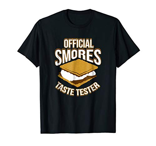 The Official Smores Taste Tester T Shirt