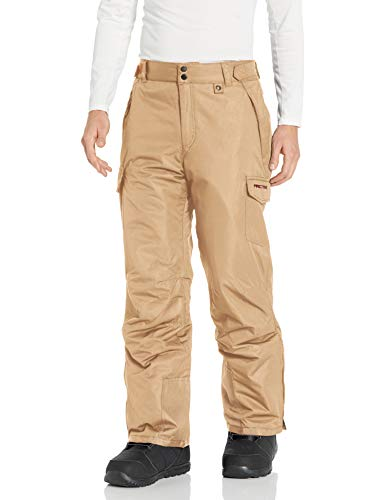 Arctix Men's Snow Sports Cargo Pants, Khaki, Medium/Regular