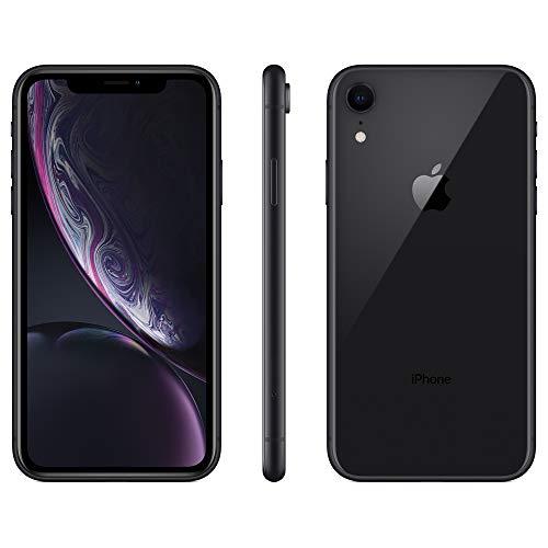 Apple iPhone XR, US Version, 64GB, Black - Unlocked (Renewed)