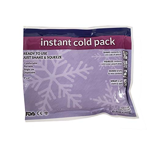 Think Safe IP01a Cold Pack, 4' W x 5' H,packaging may vary, (Pack of 12)