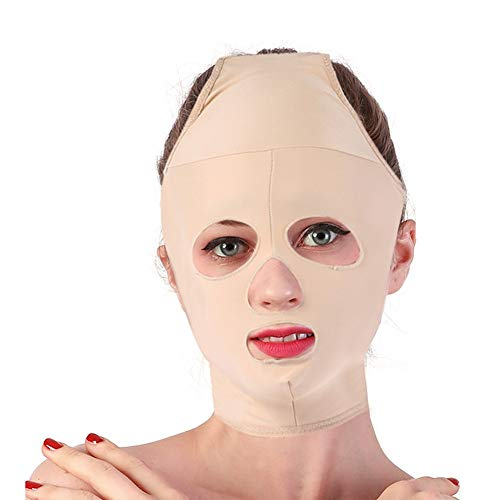 Facial Slimming Mask Full Coverage Lifting Face V Line Belt Weight Loss Double Chin Care Skin Relief Wrinkle Bandage of Beauty(S)