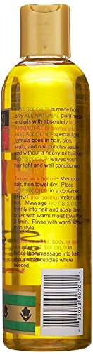African Royale Hot Six Hair Oil, 8 Ounce (Pack of 3)