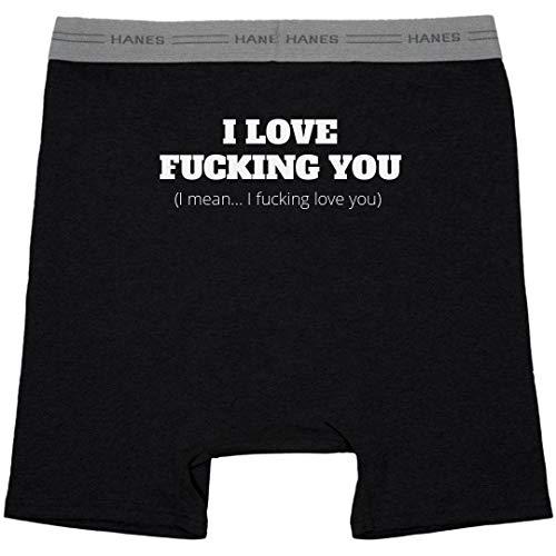 Love You Bunches: Hanes Black Boxer Brief Underwear