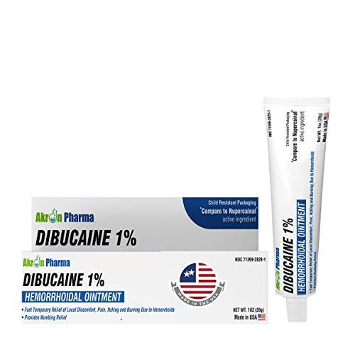 Dibucaine 1% Ointment 1 Oz. (28 gm)