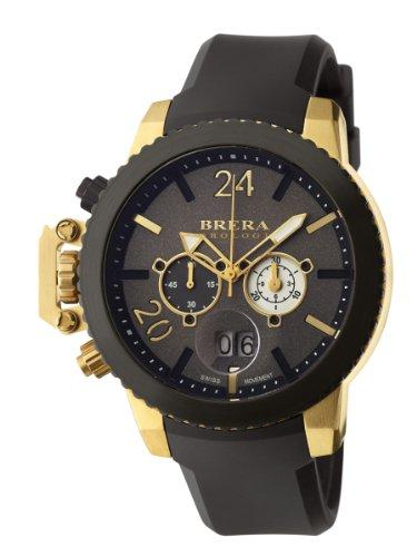 Brera Orologi: Militare in Yellow Gold IP and Black
