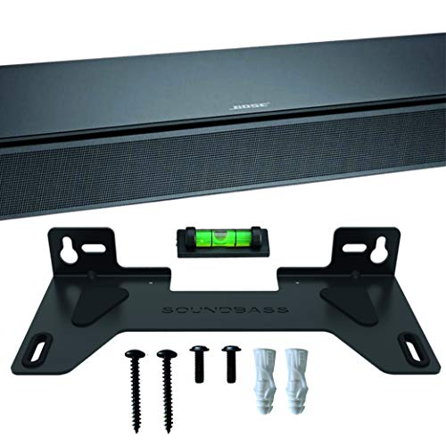 TV Speaker Wall Mount Kit Compatible with Bose TV Speaker Complete with All Mounting Hardware, Designed in The UK by Soundbass
