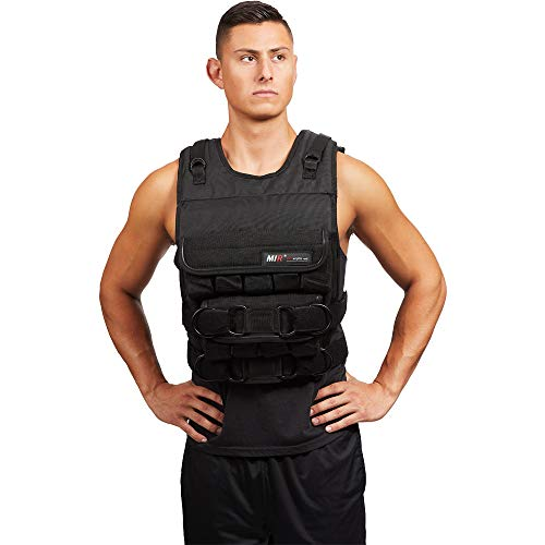 miR Adjustable Weighted Vest (45lbs - 140lbs) (PRO 120LBS)