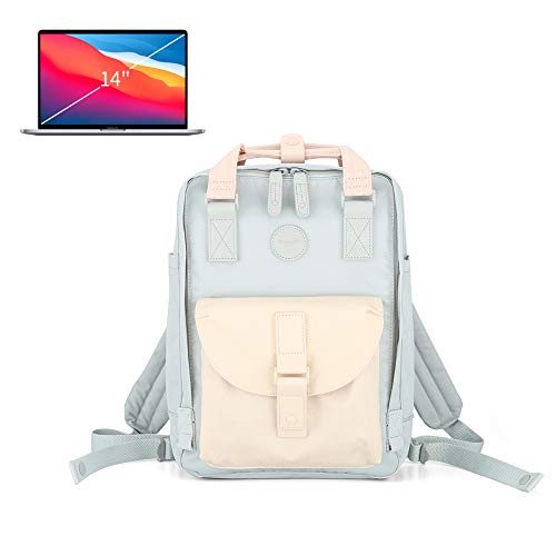 cute laptop backpack square nursing backpack Vintage Tear Resistant Business Bag for Travel, College, School, Casual Daypacks for Man,Women to 14 Inch Macbook (200-02#, Large)