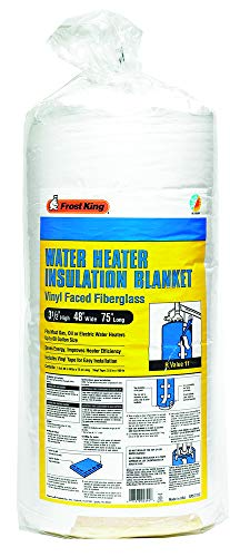 "Frost King SP57/11C All Season Water Heater Insulation Blanket, 3"" Thick x 48"" x 75"", R10"