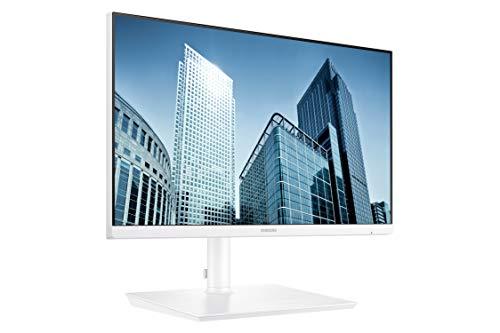 Samsung SH850 Series 24-Inch WQHD (2560x1440) Computer Monitor, Display Port, HDMI, USB-C, Height Adjustable Stand, 3 Yr WRNTY (LS24H851QFNXZA), White