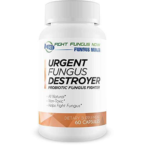 Urgent Fungus Destroyer Probiotic Fungus Fighter - The Best Clear Nails Plus Antifungal Probiotic Pills - Fight Fungus from The Inside Out with This Special Probiotic Fungus Fighting Blend