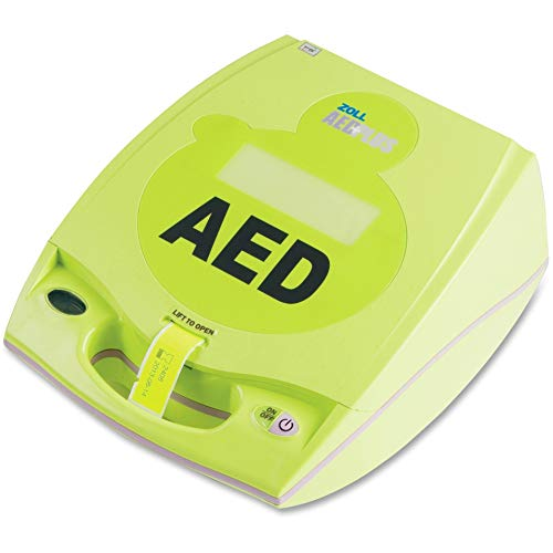 Zoll ZOL800000400001, Medical AED Plus Defibrillator, 1 Each, Lime