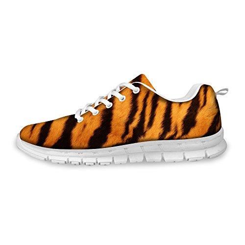 Yashimi Big Cats Felidae FurNeck Sport Road Running Shoes Lightweight Walking Sneaker for Outdoor Travel,9 Women/6.5 Men