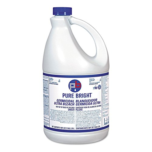 Pure Bright BLEACH6 Liquid Bleach, 1 Gallon Bottle (Case of 6)