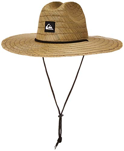 Quiksilver Boys' Big Pierside Youth Sun HAT, Natural, 1SZ