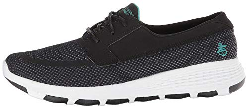 Skechers Performance On-The-Go Boat Cool Black/Turquoise 9.5