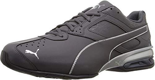 PUMA mens Tazon 6 Fracture Sneaker, Periscope-puma Silver, 10.5 US