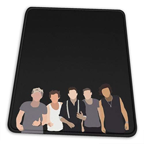 One Direction Solid Drawing Pullover Sweat Electronic Sports Office Gaming Learning Rubber Non-Slip Mouse PadMouse Pad Mouse Mat for Computer Desk Laptop Office Non-Slip Rubber