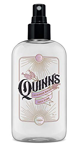 Quinn's Lavender Water-Natural Sleep Pillow Spray and Facial Body Mist 8 ounce