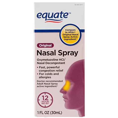 PACK OF 12 - Equate Original Oxymetazoline Nasal Spray, 1 Oz