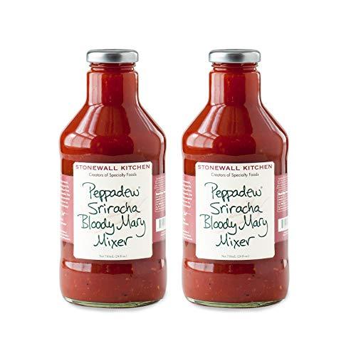 Stonewall Kitchen Peppadew Sriracha Bloody Mary Mixer, 24 Ounces (Pack of 2)