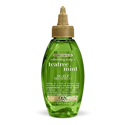 OGX Extra Strength Refreshing Scalp + Tea Tree Mint Scalp Treatment, 4 Ounce