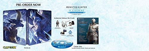 Monster Hunter World: Iceborne Master Edition Deluxe - PlayStation 4