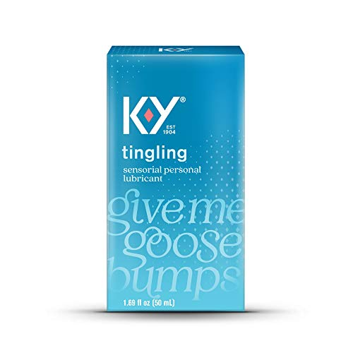 K-Y Tingling Lubricant 1.69 oz (Pack of 3)