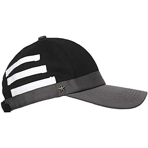 XXTT Saihara Shuichi Hat,Danganronpa Black Baseball Cap Game Cosplay Costume Accessories for Girls and Boys, Medium