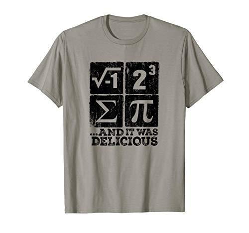 I Ate Some Pi t shirt Funny i ate some pie Math Nerd Humor