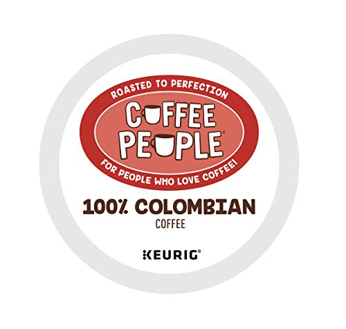 Coffee People 100% Colombian, Keurig Single Serve Coffee K-Cup Pod, Medium Roast, 72 Count