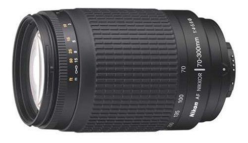 Nikon 70-300 mm f/4-5.6G Zoom Lens with Auto Focus for Nikon DSLR Cameras