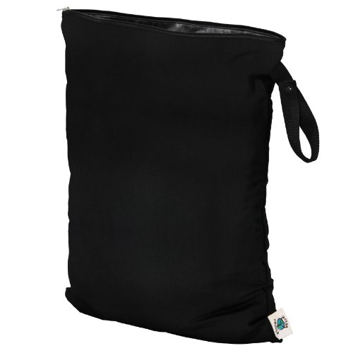 Planet Wise Wet Bag, Large, Black (Made in The USA)