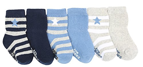 Robeez Infant/Toddler Boys' Rugby Star,Blue,US L