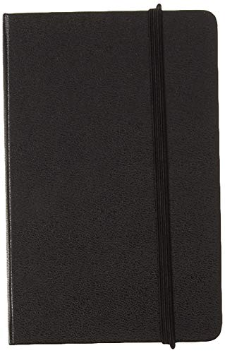 Moleskine PRO Address Book, Hard Cover, Pocket (3.5' x 5.5') Black, 192 Pages