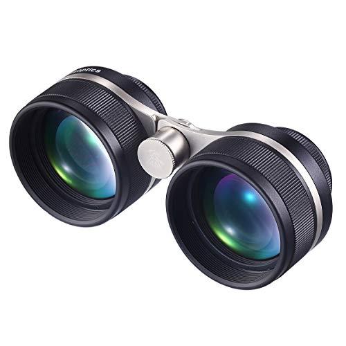 Staroptics 2.5x45 Super Wide Angle Binoculars for Adults,Astronomy Stargazing,Bird Watching,Opera,Theater Glasses,High Power Ultra HD Binocular,Fully Multi-Coated Lens,Waterproof