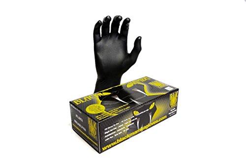 Black Mamba Super Strong Nitrile 100 Glove BOX (LARGE)