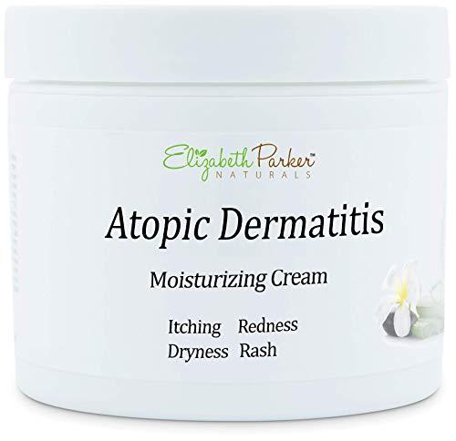 Atopic Dermatitis Antifungal Skin Cream with Organic Formula - Anti Itch Cream and Moisturizer for Sebborheic Dermatitis, Eczema and Psoriasis - Itch Relief and Repairs Dry Skin (4 oz)