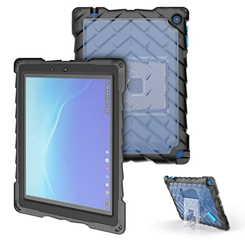Gumdrop DropTech Case with Kickstand Designed for The Acer Tab 10 Chromebook Laptop for K-12 Students, Teachers, Kids - Black, Rugged, Shock Absorbing, Extreme Drop Protection